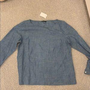 JCrew Denim long sleeve shirt